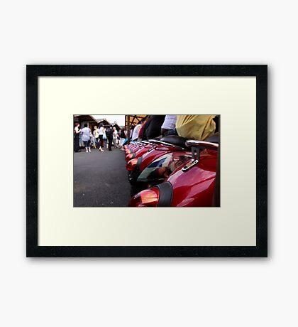 Camden Seating Framed Print