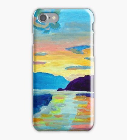 Crossing Lake Okanagan iPhone Case/Skin
