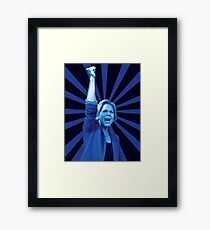 Radical Warren Framed Print