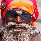 Very cool sadhu by indiafrank