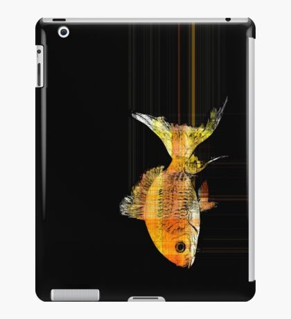 fast goldfish iPad Case/Skin