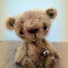 Handmade bears from Teddy Bear Orphans - Nuno by Penny Bonser