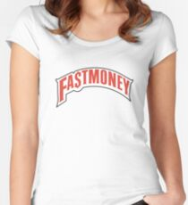 FAST MONEY RETCH Women's Fitted Scoop T-Shirt
