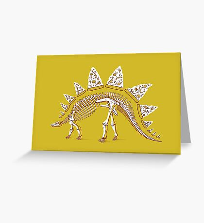 Pizzasaurus Awesome Greeting Card
