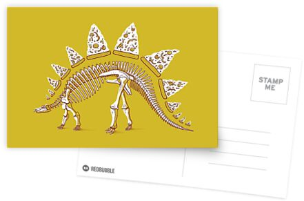 Pizzasaurus Awesome by Jacques Maes