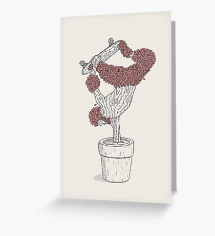 Handplant Greeting Card