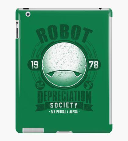 Robot Depreciation Society - Marvin the Paranoid Android iPad Case/Skin