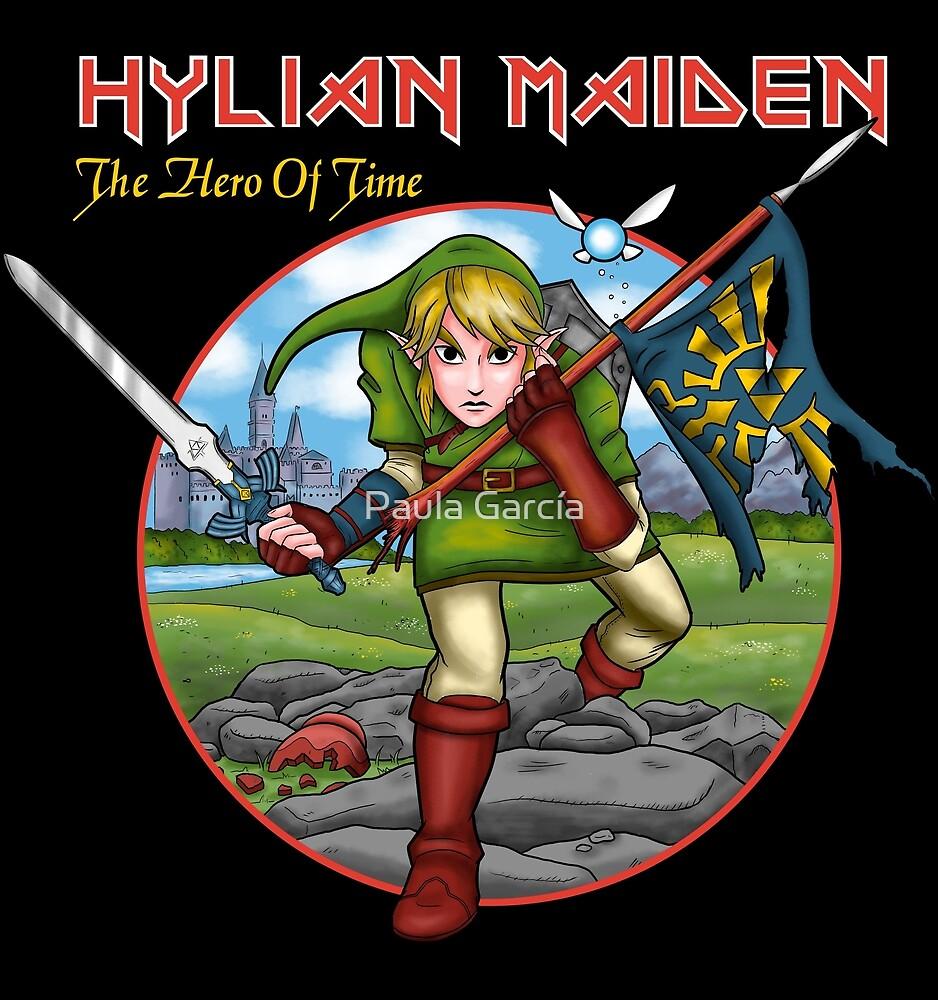 Hylian Maiden by Paula García