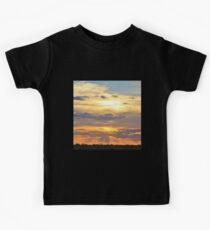 Sunset Background - Tranquil Harmony of Beauty  Kids Clothes