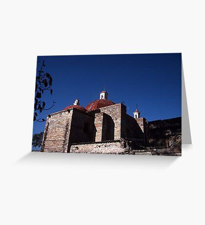 Dominican ruins, Mitla, Mexico Greeting Card