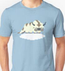 8-bit Appa on a Cloud Unisex T-Shirt