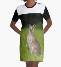 Who's there Graphic T-Shirt Dress