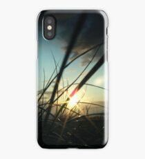 Sunset sand dune iPhone Case