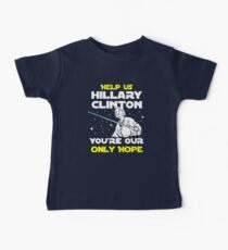Save us Hillary! Kids Clothes