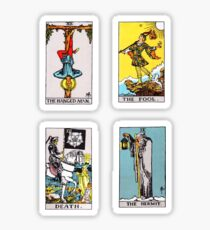 Tarot Sticker