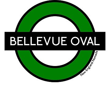 Bellevue Oval Tube Station (for white shirts) by nomads