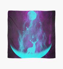 Pañuelo Bosque iluminado: ciervos de neón