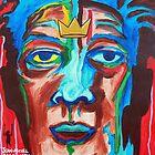 'Portrait of Jean-Michel Basquiat' by Jerry Kirk