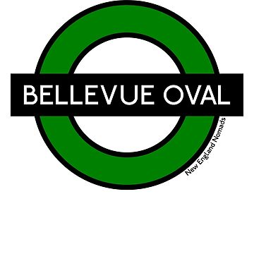 Bellevue Oval Tube Station (for coloured shirts) by nomads