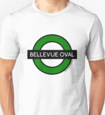 Bellevue Oval Tube Station (for white shirts) T-Shirt