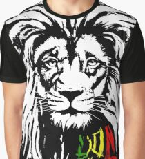 Lion Tuff Lion Head Graphic T-Shirt