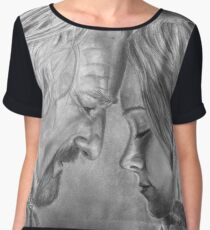 Tolkien: I know your face Women's Chiffon Top