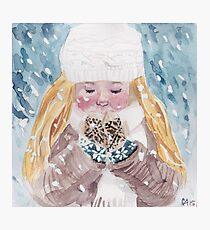 Loving Winter Photographic Print