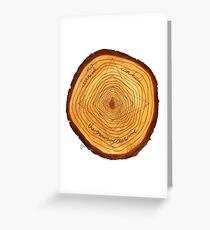 VARNISH Greeting Card