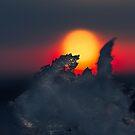 Sunrise Ice by IanMcGregor