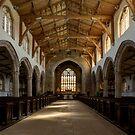 Inside St.James' church. by jasminewang