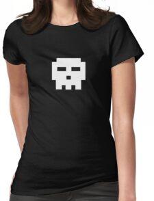 Scott Pilgrim - Pixel Skull Womens Fitted T-Shirt