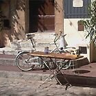 Old bike by Robert Elfferich