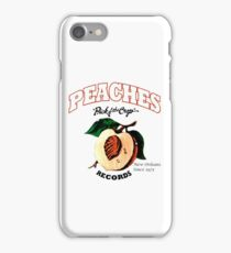Vintage peach iPhone Case/Skin