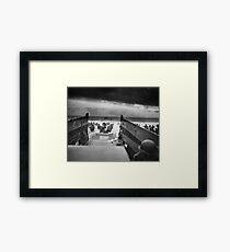 D Day - Omaha Beach Framed Print