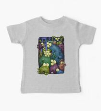 A crowd of chest dwelling aliens ... Baby Tee