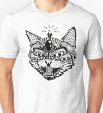 'Psychedelic Cat' T-Shirt