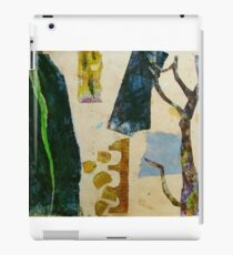 looking at the garden with scissors iPad Case/Skin