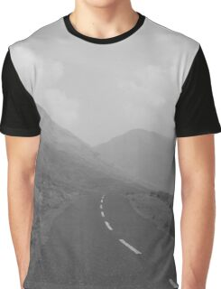 West of Ireland Road and Three Mountains Graphic T-Shirt