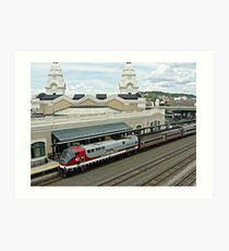 Amtrak Veterans Unit # 42 at Worcester Art Print