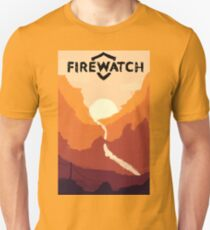 Firewatch horizion with logo T-Shirt