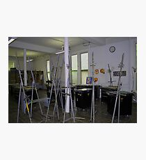 Easel Blues Photographic Print