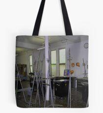 Easel Blues Tote Bag