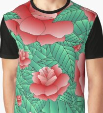 Beautiful Rose, floral pattern. Graphic T-Shirt