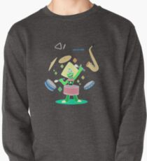 Peridot's one gem band Pullover