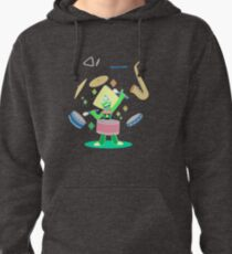 Peridot's one gem band Pullover Hoodie