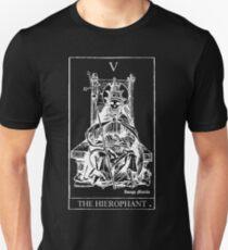 The Hierophant Tarot V Slim Fit T-Shirt