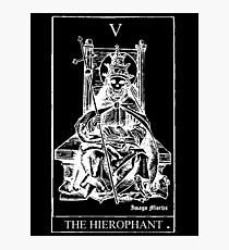 The Hierophant Tarot V Photographic Print