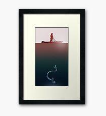 thramsay-mermaid Framed Print