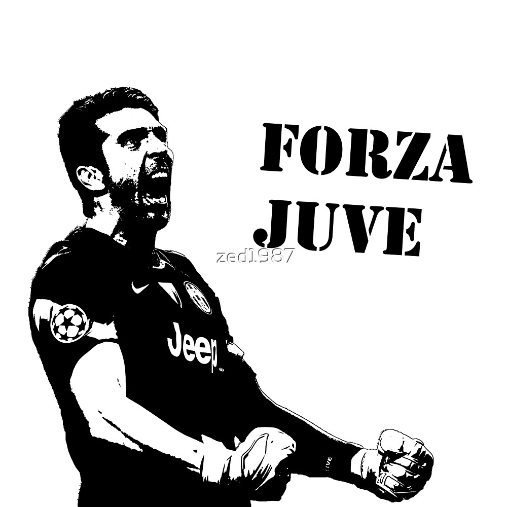 Gianluigi Buffon - Forza Juve by zed1987