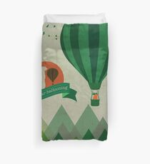Hot Bear Ballooning Duvet Cover